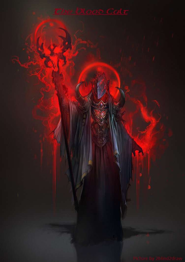 The Blood Cult - Warlock Patron and Invocations - Dungeon Masters Guild |  Dungeon Masters Guild