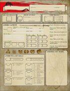 D&D 5E New Player Character Sheet