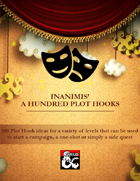 Inanimis' A Hundred Plot Hooks