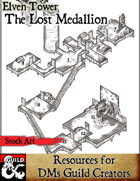 The Lost Medallion - Stock Art
