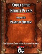 Codex of the Infinite Planes Vol 08 Plane of Shadow