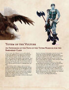 Totem of the Vulture - Option For Totem Warrior Barbarians