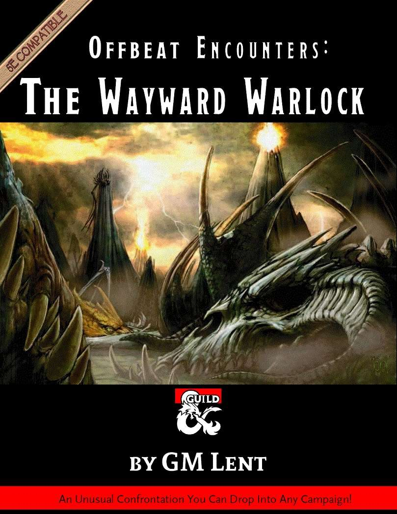 Offbeat Encounters: The Wayward Warlock - Dungeon Masters Guild
