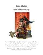 Paladin - Oath of Raging Flames (5th Edition Subclass)
