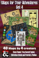 Maps for Your Adventures Set 4