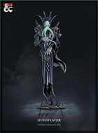Mindflayer Paper Miniature