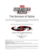 CCC-STORM-01 The Barrows of Solina