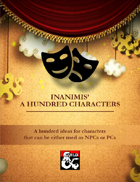 Inanimis' A Hundred Characters