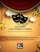 Inanimis' A Hundred Curses