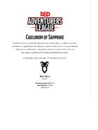 DDAL07-17 Cauldrons of Sapphire