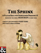 The Sphinx: A player race for D&D 5E