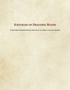 Knuckles of Draconic Blood