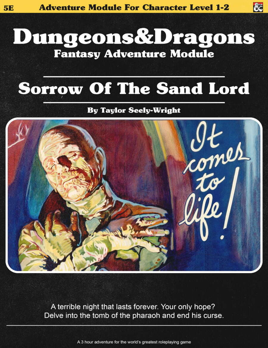 Cover of Sorrow of the Sand Lord