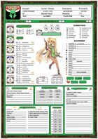 Adventure Master Character Sheet (The Green Leaf)