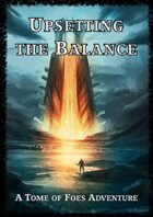 Upsetting the Balance Cover