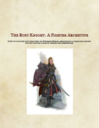 5e Rust Knight: A Fighter Archetype