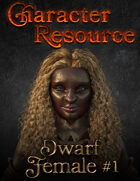 Character Resource - Dwarf Female #1