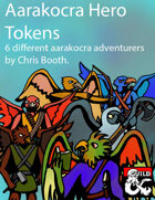 Aarakocra Hero Tokens