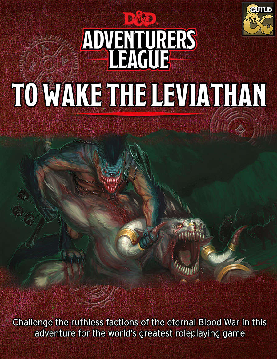 To Wake The Leviathan - Dungeon Masters Guild | Dungeon