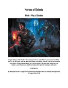 Monk - Way of the Broken (5th Edition Subclass)