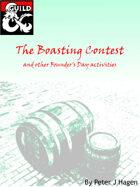 The Boasting Contest