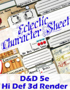 Eclectic Character Sheet