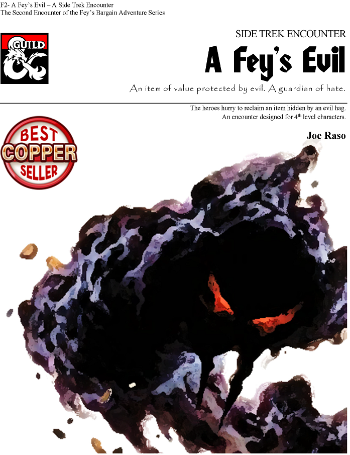 Front Page of A Fey's Evil