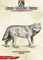 Animal Companion Revamp