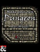 Make your own Dungeon! Over 100 Seamless Tiles
