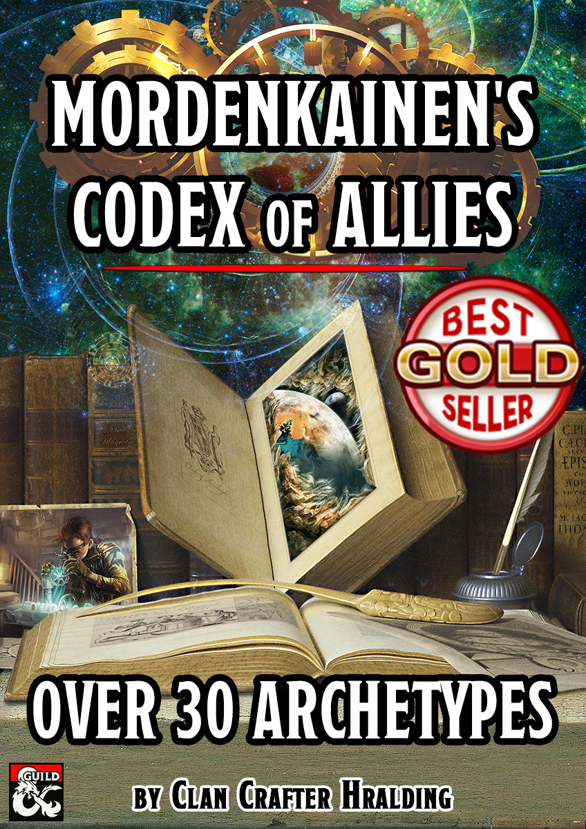 Mordenkainen's Codex of Allies (30+ Subclasses) - Dungeon Masters Guild |  DriveThruRPG com