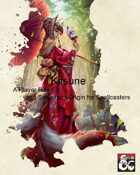 Kitsune Player Race & Sorcerous Origin for Spellcasters