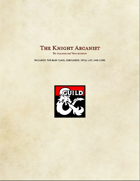 The Knight Arcanist - Class Option
