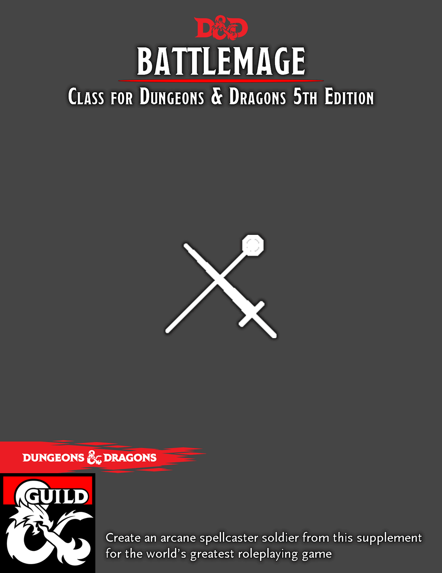 Battlemage Class 5E - Dungeon Masters Guild | Dungeon Masters Guild