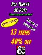 Rob Twohy's 5E PDFs