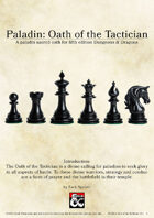 Paladin: Oath of the Tactician