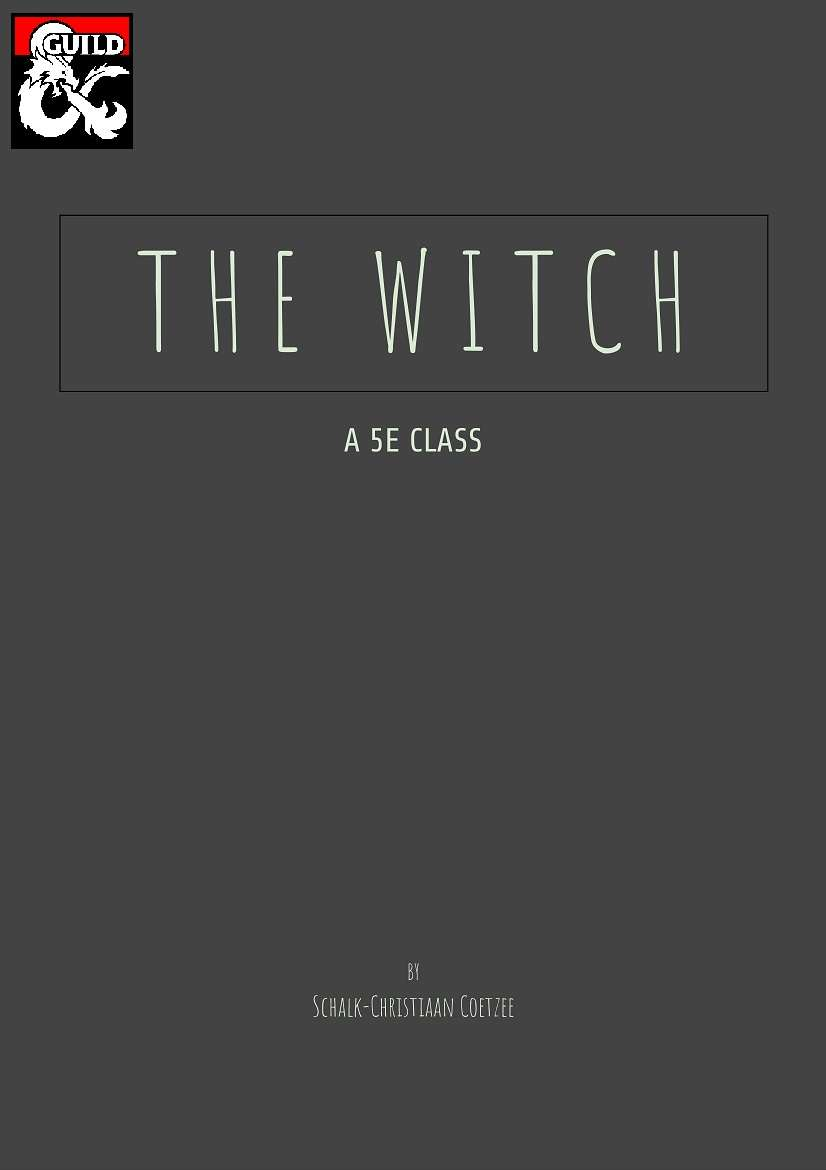 The Witch - A 5E Class - Dungeon Masters Guild | Dungeon