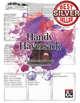 Handy Haversack Inventory Sheet