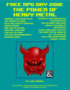 The Power of Heavy Metal: Free RPG Day 2018