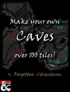 Make your own Caves! Over 100 Seamless Tiles