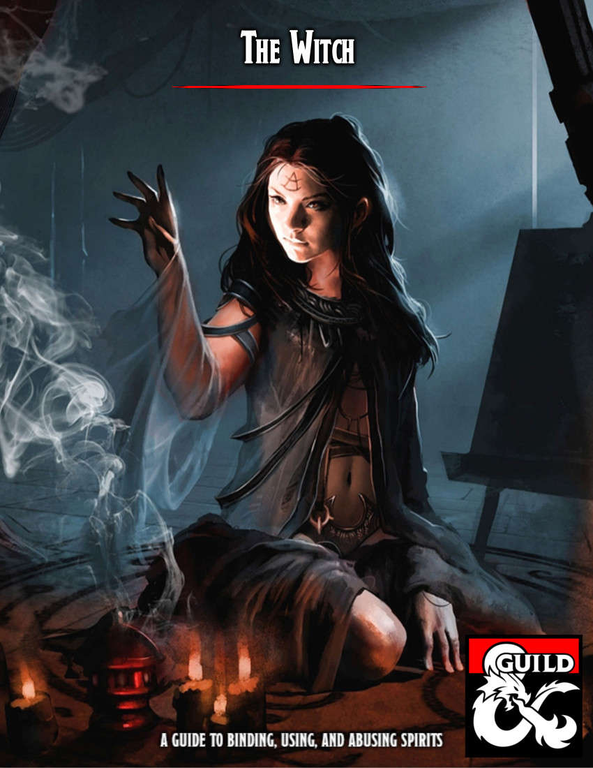 The Witch - Dungeon Masters Guild   Dungeon Masters Guild