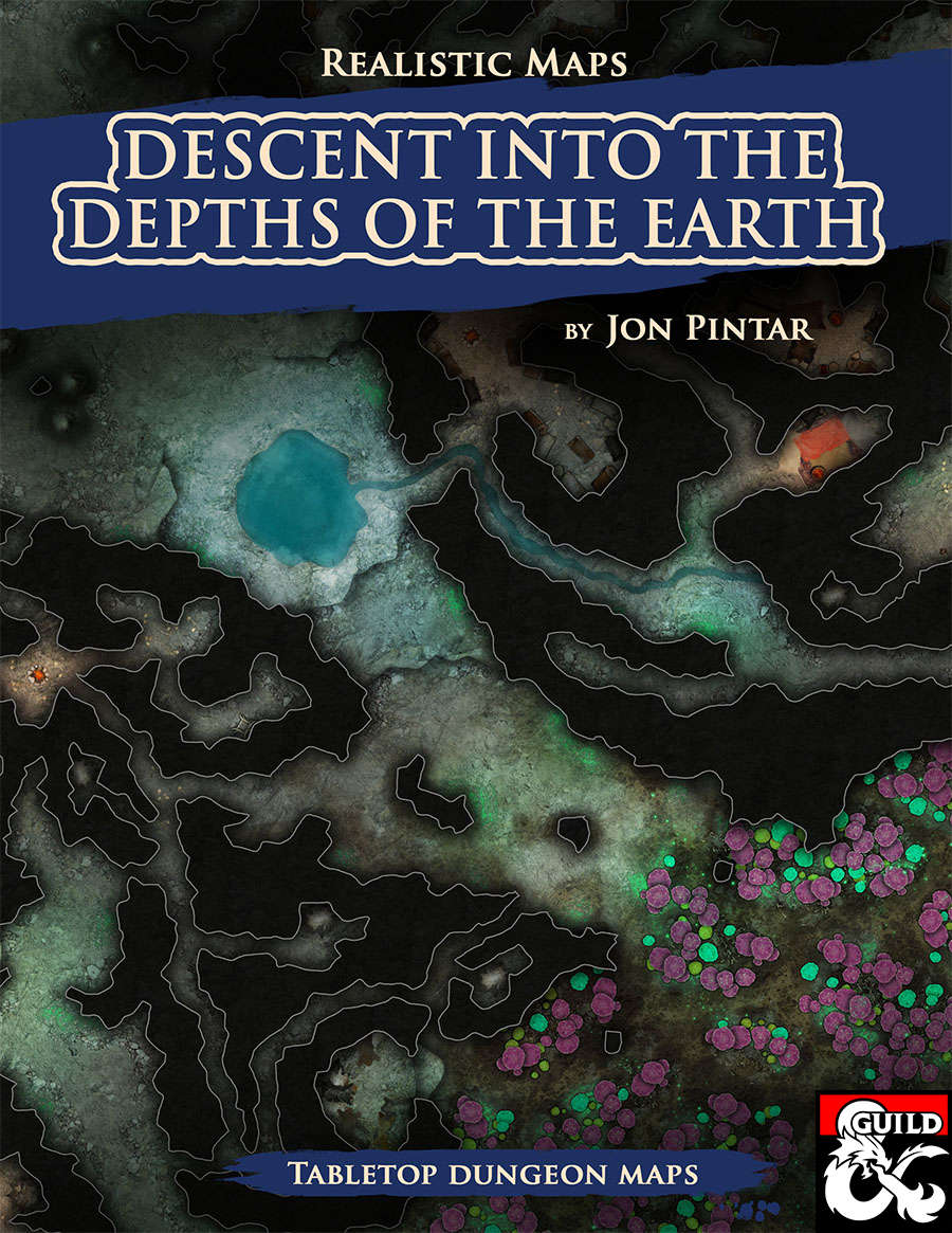 Descent Into the Depths of the Earth   Dungeon Masters Guild