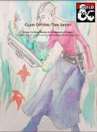 Class Option: The Artist