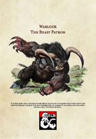 5th Edition Warlock Subclass: The Beast Patron