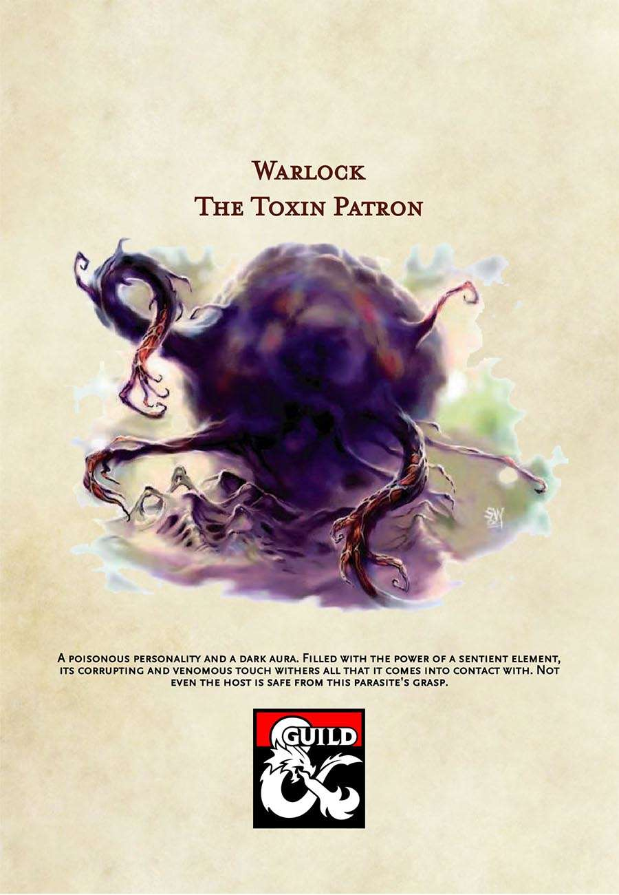 5th Edition Warlock Subclass: The Toxin Patron - Dungeon Masters
