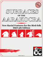 Subraces of the Aarakocra