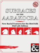 Subraces of the Aarakocra