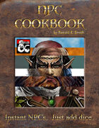 The NPC Cookbook-Instant NPCs; Just Add Dice