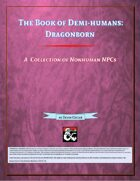 The Book of Demihumans - Dragonborn