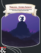 Warlock - Gothic Patrons