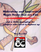 Ridiculous and Impractical Magic Items that are Fun